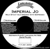Lancaster Imperial JO beer