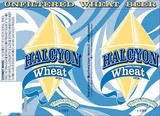Tallgrass Halcyon Wheat beer