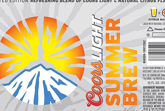 Coors Light Summer Brew Beer