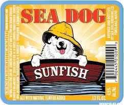 Sea Dog Sunfish beer Label Full Size