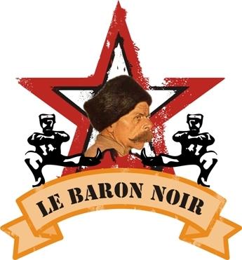 Le Trou du Diable Baron Noir beer Label Full Size