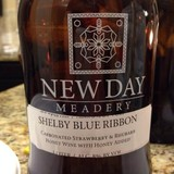 New Day Meadery Shelby Blue Ribbon Beer