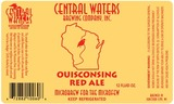 Central Waters Ouisconsing Red Ale Beer