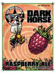 Dark Horse Raspberry Ale beer Label Full Size