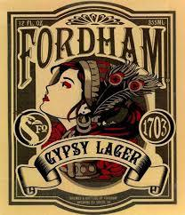 Fordham Gypsy Lager beer Label Full Size
