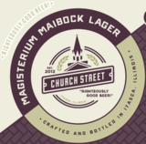 Church Street Magisterium Maibock beer