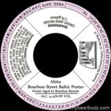 Abita Bourbon Street Baltic Porter Beer