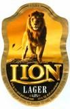 Lion Lager beer