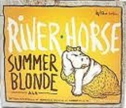 River Horse Summer Blonde Beer
