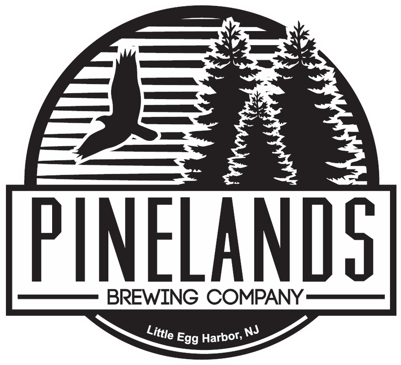 Pinelands Mason's Wheat beer Label Full Size