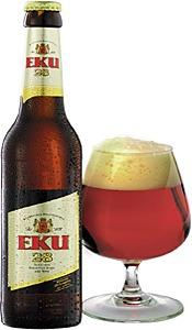Kulmbacher EKU 28 beer Label Full Size