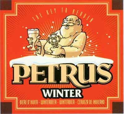Bavik Petrus Winter beer Label Full Size