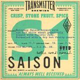 Transmitter S1 Mahogany Saison beer