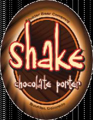 Boulder Shake Chocolate Porter beer Label Full Size