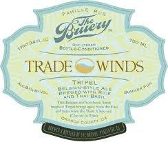 Bruery Trade Winds Tripel beer Label Full Size