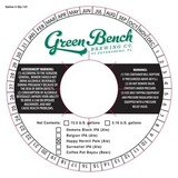 Green Bench Happy Hermit Pale Ale beer