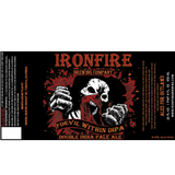 Ironfire The Devil Within Double IPA beer