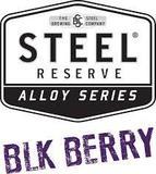 Steel Reserve Blk Berry beer
