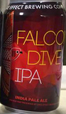 Lake Effect Falcon Dive IPA Beer