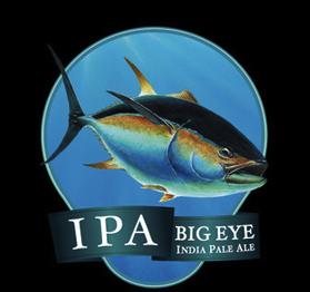Ballast Point Big Eye IPA beer Label Full Size