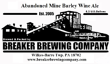 Breaker Abandoned Mine Barley Wine beer