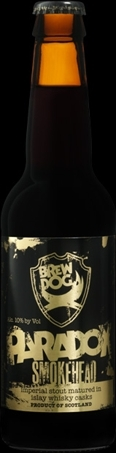 Brew Dog Paradox Speyside Stout beer Label Full Size