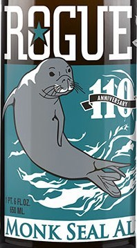 Rogue Monk Seal beer Label Full Size
