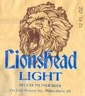 Lionshead Light Beer