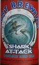 Port Brewing Shark Attack beer Label Full Size