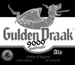 Van Steeneberg Gulden Draak 9000 beer Label Full Size