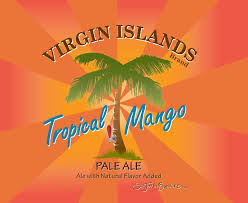 St. John's Tropical Mango beer Label Full Size