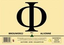 Alvinne Phi beer Label Full Size