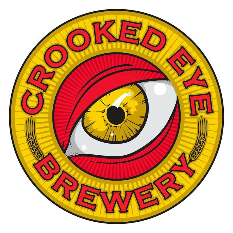 Crooked Eye IPA beer Label Full Size