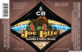 CB Joe Latte Coffee Vanilla Stout beer