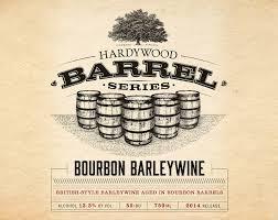 Hardywood Bourbon Barleywine beer Label Full Size