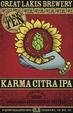 Great Lakes Karma Citra IPA beer