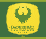 Baderbrau Lawnmower Lager Beer
