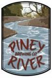 Piney River Masked Bandit Black IPA beer