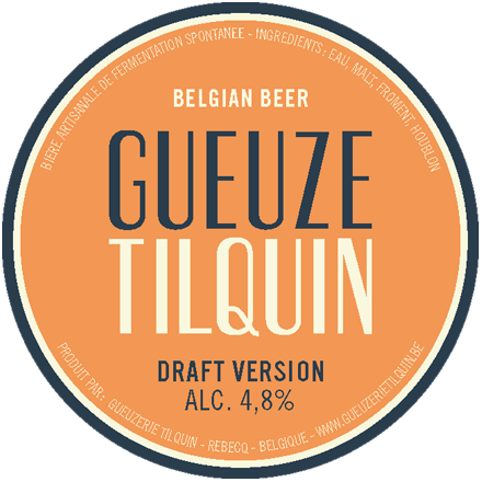 Tilquin Oude Gueuze Draft Version 2013 beer Label Full Size