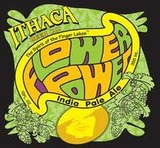 Ithaca Flower Power IPA Dry Hopped with Citra beer