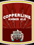 Backwoods Copperline Amber Ale Beer
