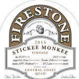 Firestone Walker Stickee Monkee beer Label Full Size
