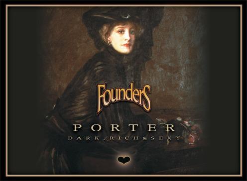Founders Porter beer Label Full Size