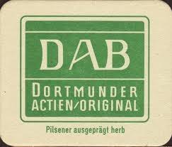 Dortmunder Actien Braverci beer Label Full Size