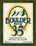 Boulder 35th Anniversary Imperial Black IPA Beer