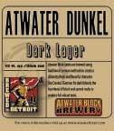 Atwater Dunkel beer