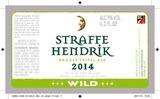 Straffe Hendrik Wild Tripel beer
