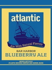 Atlantic Blueberry Ale beer Label Full Size