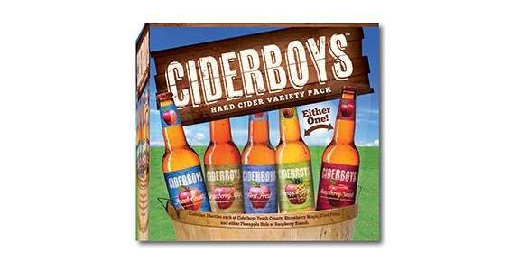 Ciderboys Variety Pack beer Label Full Size