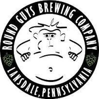 Round Guys Adam's Psychedelic Breakfast Maple Brown Ale beer Label Full Size